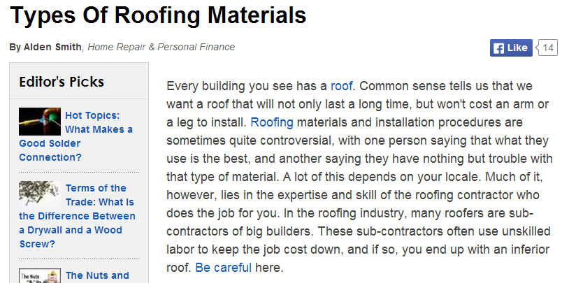 St petersburg roofing options a comparison between for Types of roofing materials