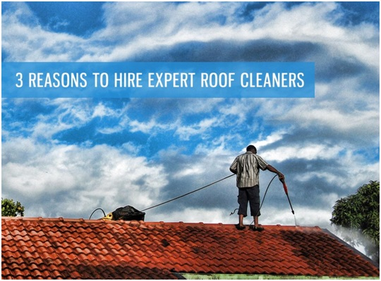 3 reasons to hire expert roof cleaners - Reasons get roof cleaned ...