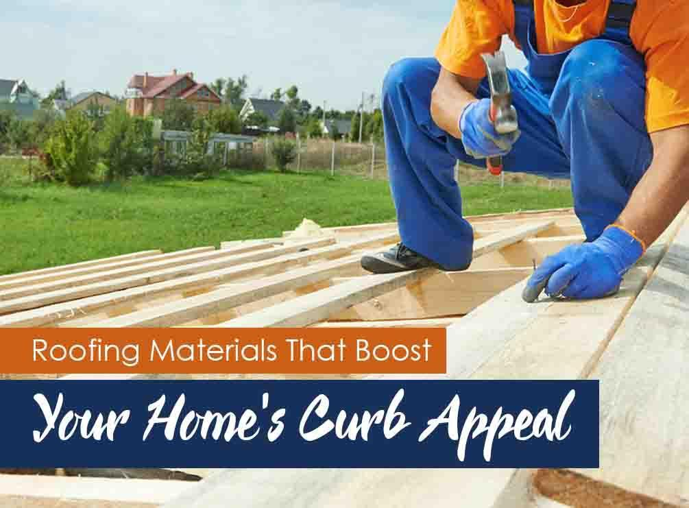 Roofing materials that boost your home s curb appeal for Home roofing options