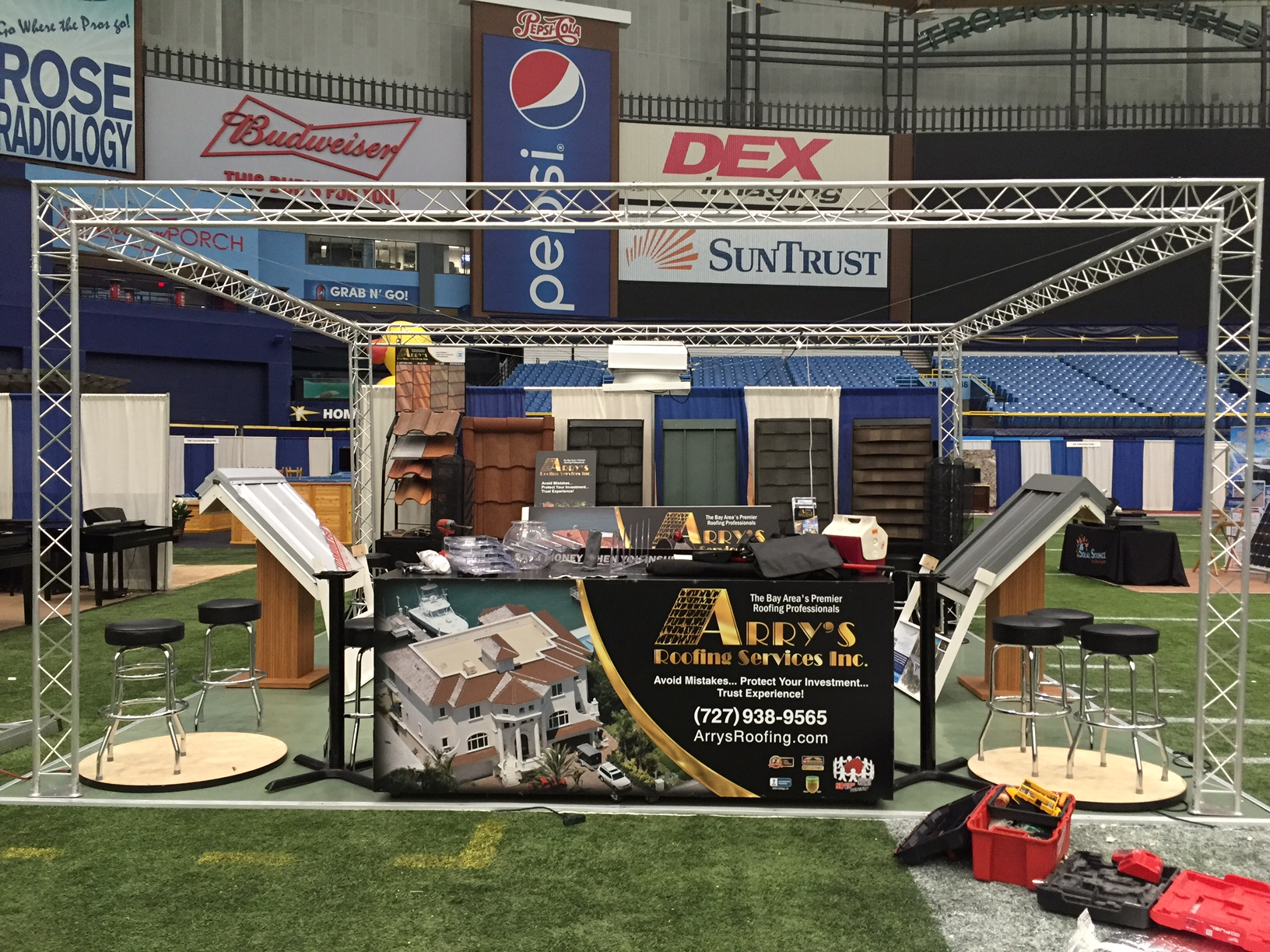 Catch Arry's Roofing at the Tampa Bay Home Show This Weekend