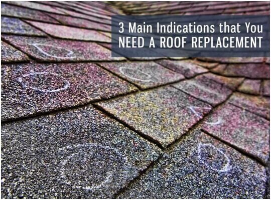 Roofing St Petersburg Fl 3 Main Indications that You Need a Roof Replacement