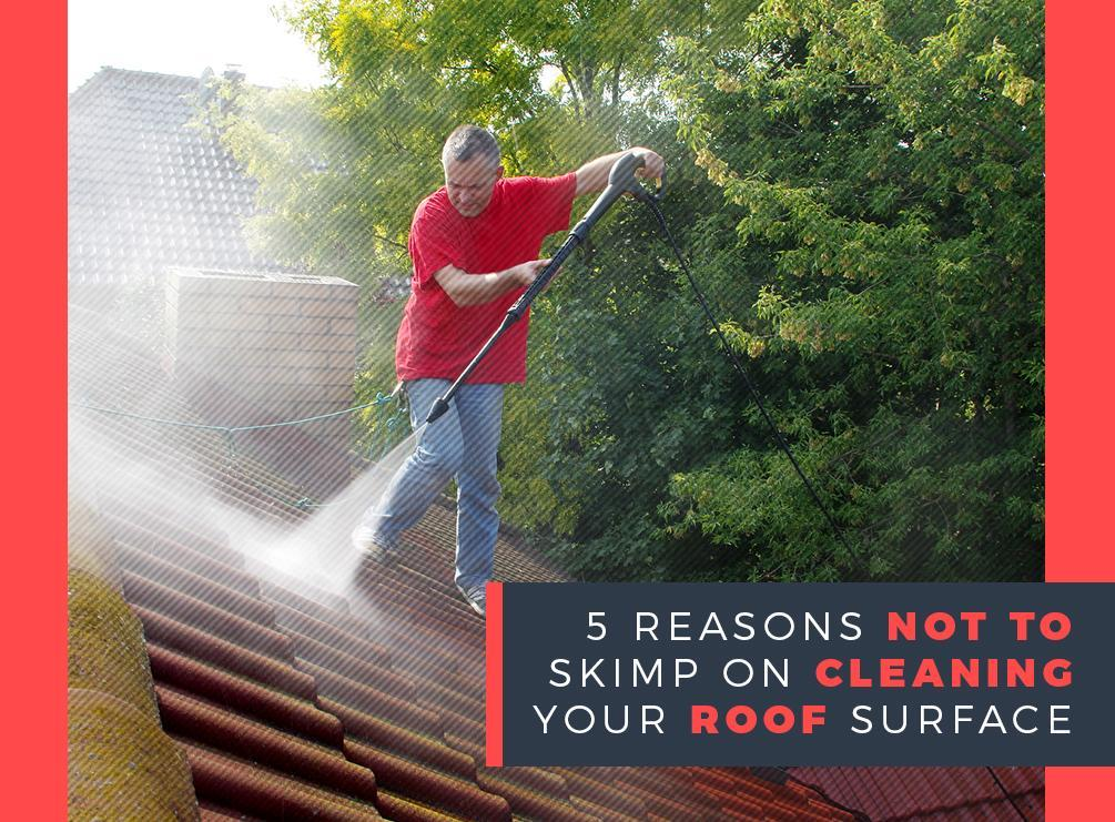 5 Reasons Not to Skimp on Cleaning Your Roof Surface